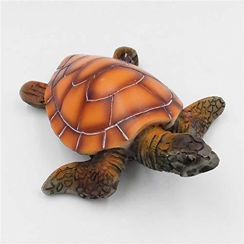 Gulunmun Ornamente Für Aquarien Aquariensteine Stilvolle Aquarium Ornament Polyresin Schildkröte Schildkröte Künstliche Aquarium Schildkröte Dekoration Lieferung 1 Stück Einheitsgröße