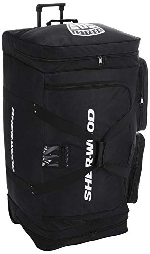 Sherwood Unisex True Touch 90 Wheel Bag Eishockeytasche, Schwarz, 100 x 50 46 cm 230 Liter EU