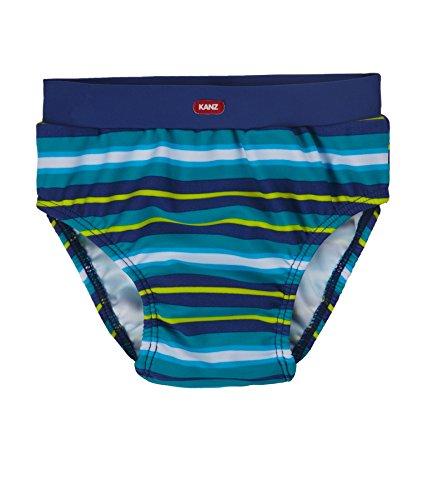 Kanz Baby-Jungen Schwimmwindel, Grün (Allover|Multicolored 0003), (Herstellergröße: 68)