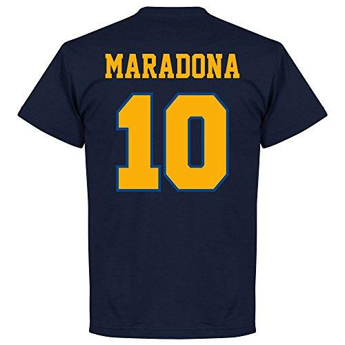 Boca Maradona 10 CABJ Crest T-Shirt - navy - XL