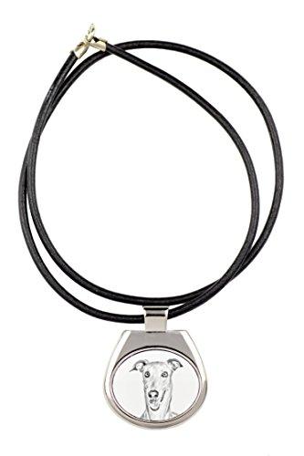 ArtDog Ltd. Galgo Italiano, colección de Collares con Imagen de Perro, sublimación