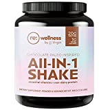 Reignite Wellness Chocolate Paleo-Inspired All-in-One Shake - Keto-Friendly Bone Broth Protein Powder - Healthy Shake Supports Lasting Energy with 20g of Protein (15 Servings, 1.22 lbs) - by JJ Virgin
