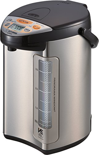 Zojirushi America Corporation CV-DCC40XT Hybrid Water Boiler And Warmer, 4-Liter, Stainless Dark Brown