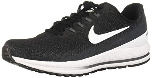 Nike Men's Air Zoom Vomero 13 Running Shoes-Black/White/Antracite-12