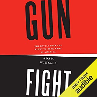 Gunfight audiobook cover art