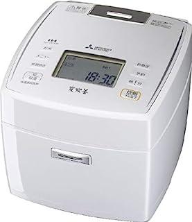 三菱 IHジャー炊飯器(5.5合炊き) ピュアホワイトMITSUBISHI 備長炭炭炊釜 NJ-VE109-W