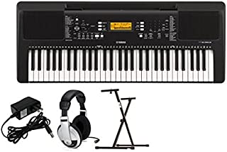 $199 Get Yamaha PSRE363 Premium Keyboard Package with YXKS Stand