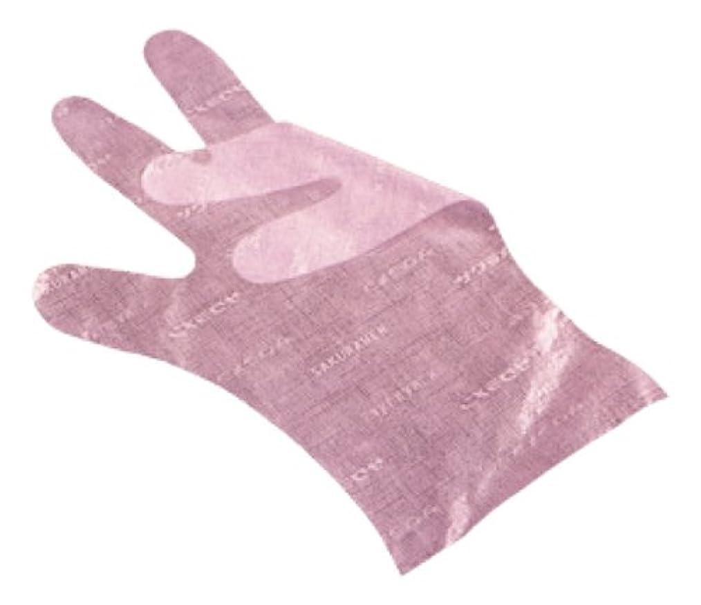 インスタント肉の社会主義サクラメン手袋 デラックス(100枚入)S ピンク 35μ