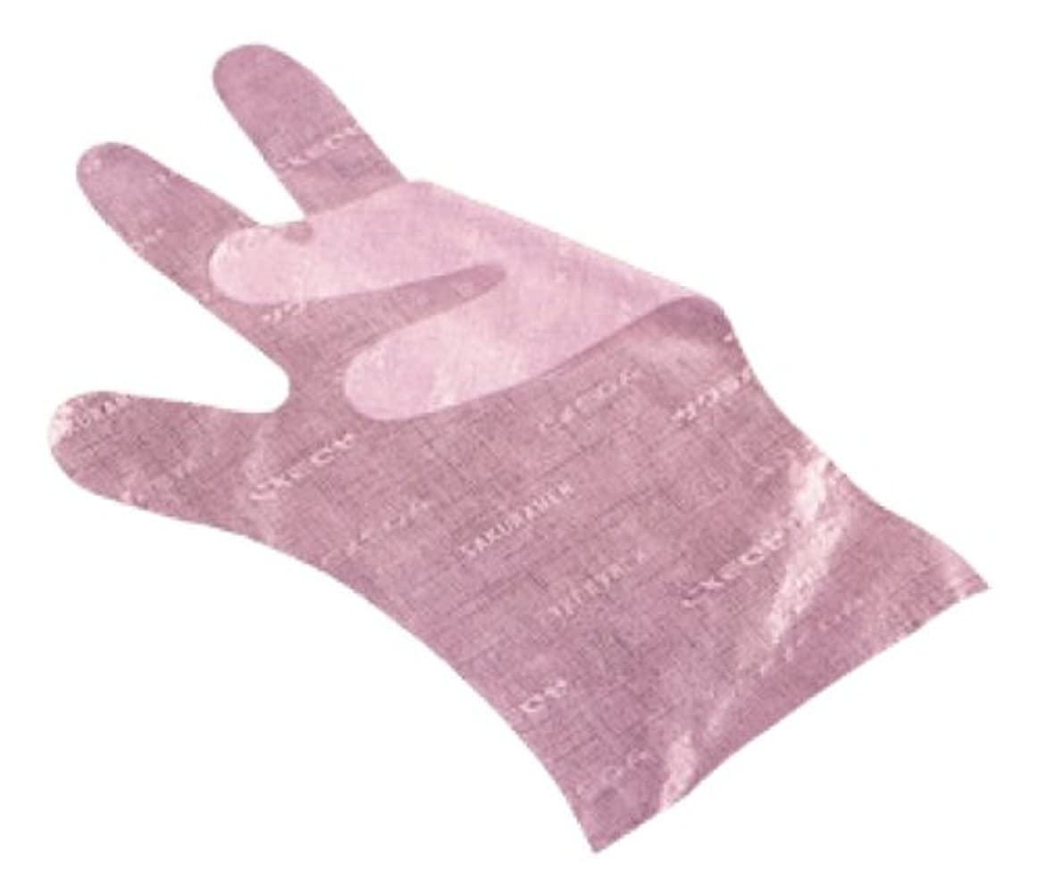 サバント降雨家禽サクラメン手袋 デラックス(100枚入)S ピンク 35μ