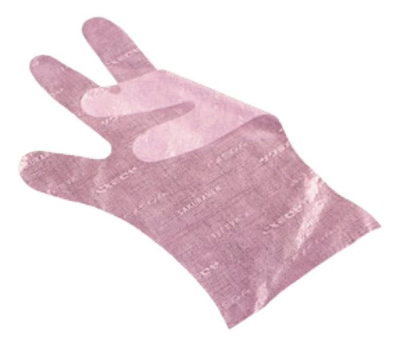 投獄前奏曲牧師サクラメン手袋 デラックス(100枚入)S ピンク 35μ