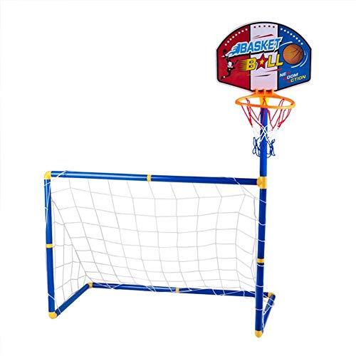 DXQDXQ Baloncesto Soporte de Fútbol Plastico Jardín Aro Baloncesto Canasta Baloncesto Infantil Altura Ajustable Tablero Infantil Baloncesto Juego Conjunto