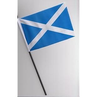 Scotland St Andrews Hand Flag 25cm