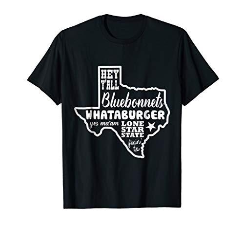 What A Burger Love Texas Funny T Shirt