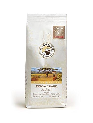 Murnauer Kaffeerösterei PENYA CRAKE - Kaffeebohnen aus Zimbabwe - Premium Kaffee - von Hand frisch & schonend geröstet - Espresso und Filterkaffee - 1000g ganze Bohne