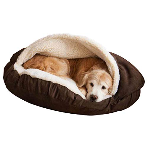 Pets Cama Perro Cama para Mascotas, Cueva Suave y cálida para Mascotas,...