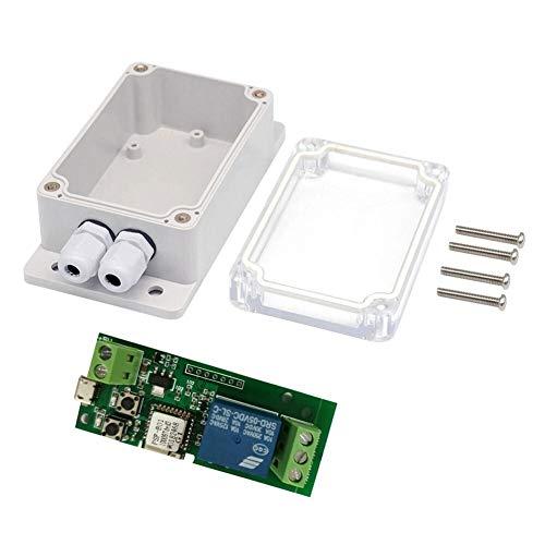 EWeLink USB DC 5V Wifi inalámbrico Módulo de relé Automatización Inteligente Teléfono aplicación de control remoto del interruptor de control del temporizador de control por voz for el sistema de cont