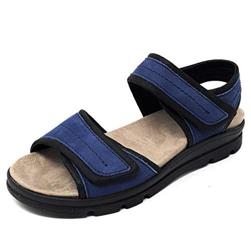 ACO Pam 11 Damen Sandale in Blau, Größe 39