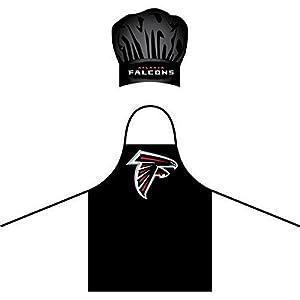 Chef Hat & Apron Set - Barbeque BBQ Kitchen Backyard Outdoors - NFL - Atlanta Falcons