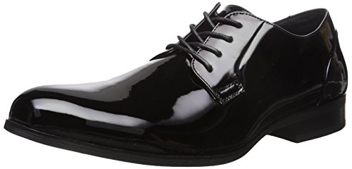 Unlisted by Kenneth Cole Men's H-EEL The World Oxford, Black, 8.5 M US