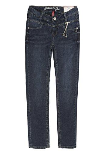 Lemmi Hose Jeans Girls Skinny MID Mädchen Blue Denim,122
