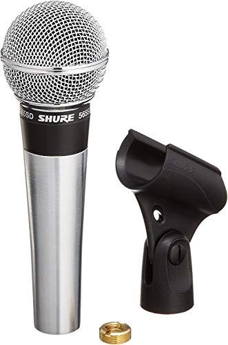 Shure 565SD Dynamisches Gesangsmikrofon mit Nierencharakteristik und An/Aus-Schalter (Vorgänger des SM58)