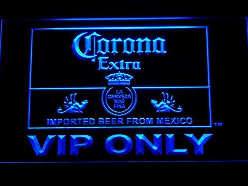 Corona Extra VIP nur Bier LED Schild Neon Light Man Cave 417-b