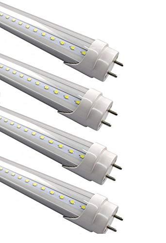 (4-Pack) Fulight Ballast-Bypass T8 LED Tube Light...