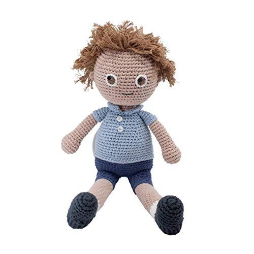 Sebra Häkel-Puppe, William