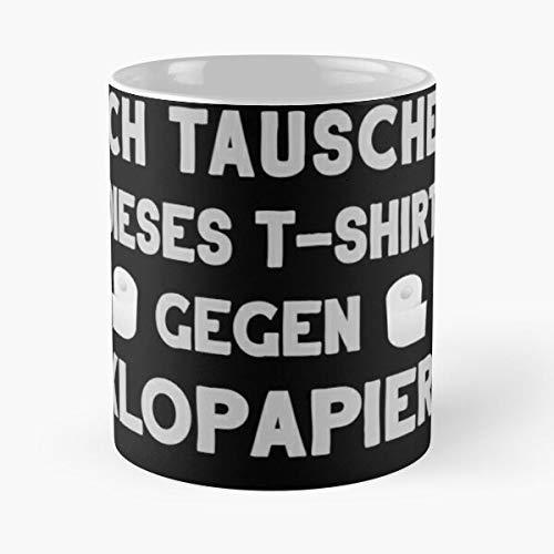 Exchange Shirt For Toilet Paper Toiletroll Classic Mug Best Gift Coffee Mugs 11 Oz