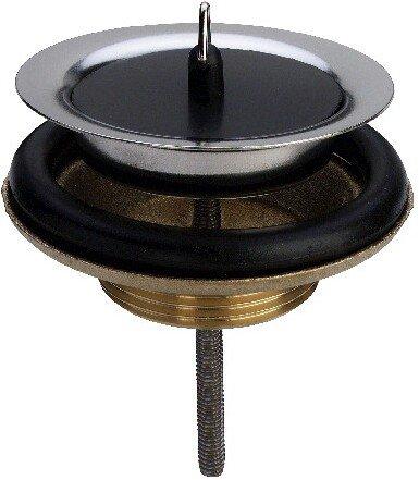 Viega 103385 Ablaufventil Modell 7122 mit Stopfen, für Spülen Anschluss 1 1/2 Zoll