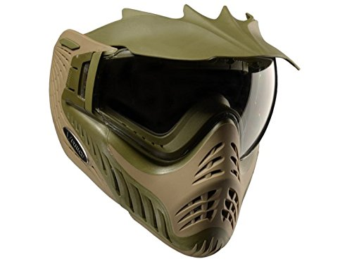 VForce Erwachsene Profiler Maske, Swamp (Olive Drab/Tan), One Size