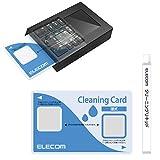 エレコム ICクリーニングカード 接点式クリーナー 【 ETC/B-CASカード/ICカード/クレジットカード決済端末機 対応 】 湿式 CK-CR2