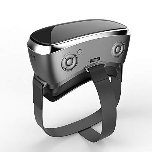 ZY Jeu Lunettes Casque VR Machine Réalité Virtuelle Adulte Théâtre Casque 3D Lunettes 3D,White