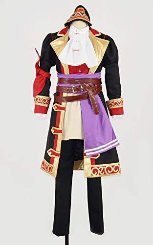 ドラゴンクエストXI(ドラクエ11)カミュ 海賊王 帽子付き コスプレ衣装 [3556] 女性L