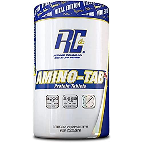 RCSS Amino-Tab XS Aminosäure BCAA Acid Muskelaufbau Fitness Bodybuilding (325 Tabeltten)…