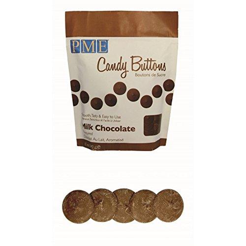 2 x 12oz PME MILK CHOCOLATE Candy Button Melt Pop Sugarcraft Cake Decoration Dip