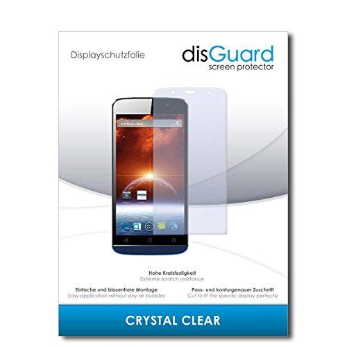 disGuard® Bildschirmschutzfolie [Crystal Clear] kompatibel mit Switel S5502D [2 Stück] Kristallklar, Transparent, Unsichtbar, Extrem Kratzfest, Anti-Fingerabdruck - Panzerglas Folie, Schutzfolie