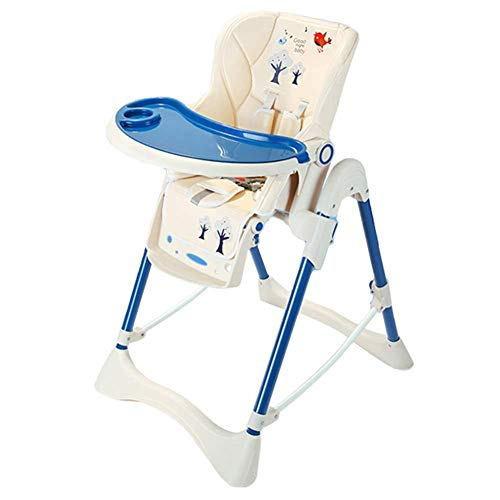 Fantastic Prices! Baby High Chair,Portable Fold Booster Seat for Toddlers Dining - Wiht Adjustable H...
