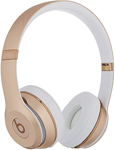 Beats by Dr. Dre - Beats Solo3 Wireless Headphones - Gold(Renewed)
