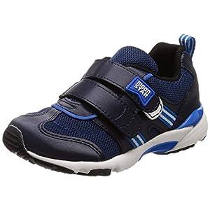 [ムーンスター] スニーカー 運動靴 幅広 3E 男の子 女の子 15~21cm キッズ MS C2209 ネイビー 17.0 cm
