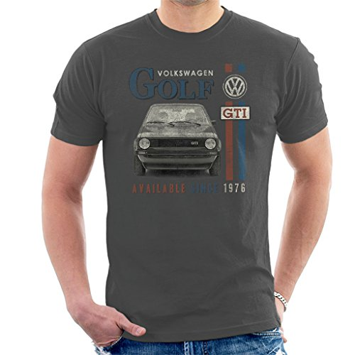 Volkswagen Golf GTI Racing Distressed Men's T-Shirt