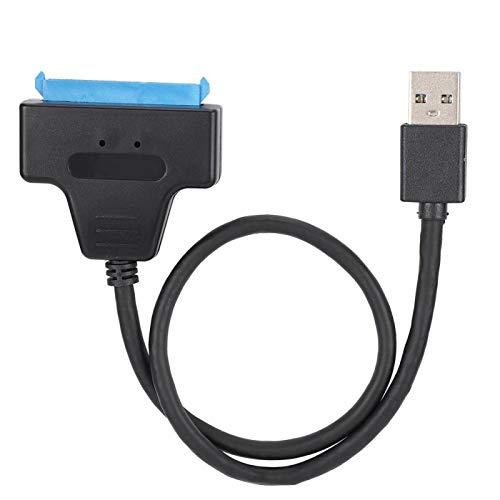 Shipenophy Excelente línea de conexión Duradera Ampliamente Utilizada Buena compatibilidad Cable SSD portátil para Disco Duro de Estado sólido para computadora