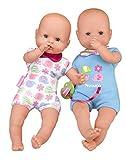 Nenuco Twins - Muñecos bebés Hermanos Gemelos para niños y niñas de 1 a 3...