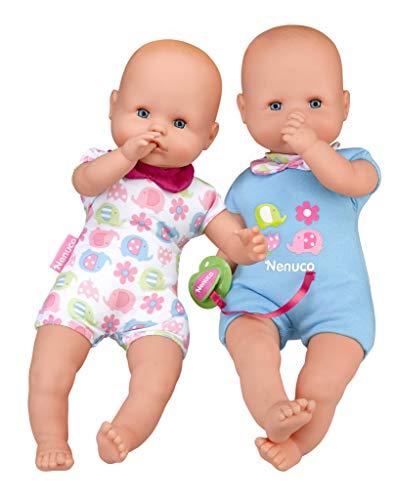 Nenuco Twins - Muñecos bebés Hermanos Gemelos para niños