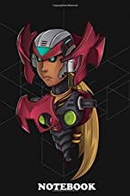 """Notebook: Vector Illustration Of Zero From Megaman , Journal for Writing, College Ruled Size 6"""" x 9"""", 110 Pages"""