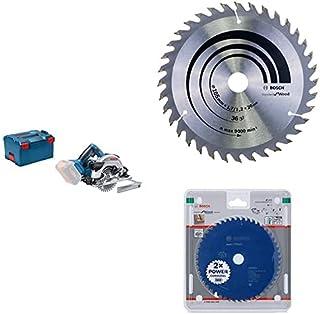 Bosch Professional 18 V System Cordless Circular Saw GKS 18 V - 57 G (Saw Blade Ø: 165 mm, Cutting Depth: 57 mm, Without B...