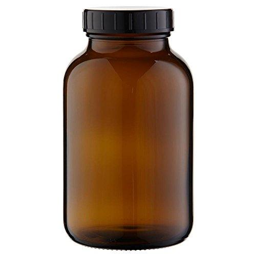 3 x Weithalsflasche 1000ml Braunglas inkl. Schraubverschluss mit Dichtungsscheibe *** Weithalsflaschen, Schraubgläser, Weithalsgläser, Braunglasflaschen, Glasdosen, Allzweckgläser, Haushaltsgläser, Weithalsglas, Schraubglas, Allzweckglas, Haushaltsglas, 1 Liter, 1l, 1000 ml, 1Liter ***