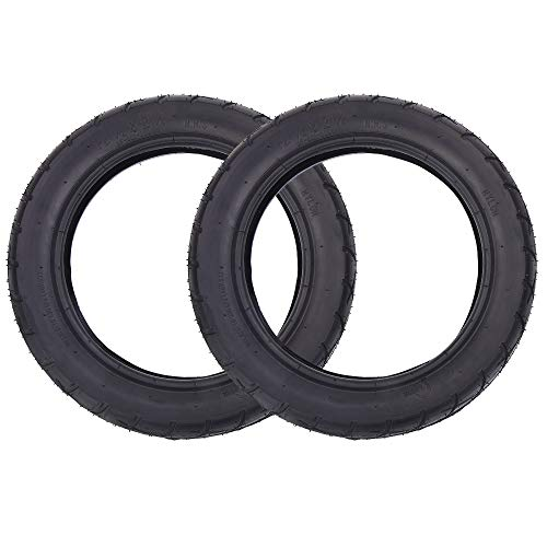 2er Packung mit 12 1/2 x 2 1/4 (12,5x2,25) Reifen Reifen für Kinder Elektroroller Rasiermesser Tasche Mod
