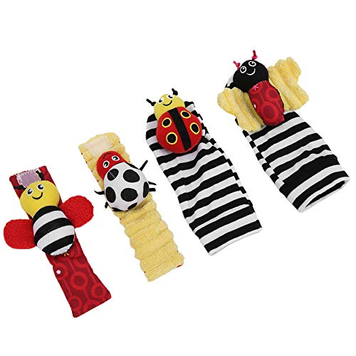 Juguete brillante para colgar calcetines para bebés, calcetines suaves para bebés, calcetines...