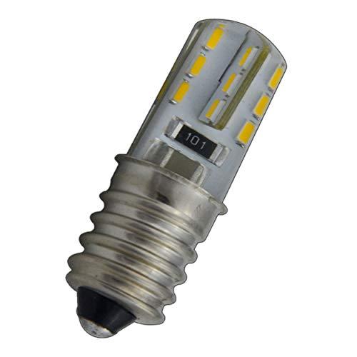 E14 LED mini lamp 1,5 Watt silicia/siliconen voor koelkast/kleine lampen [energieklasse A ] warmwit